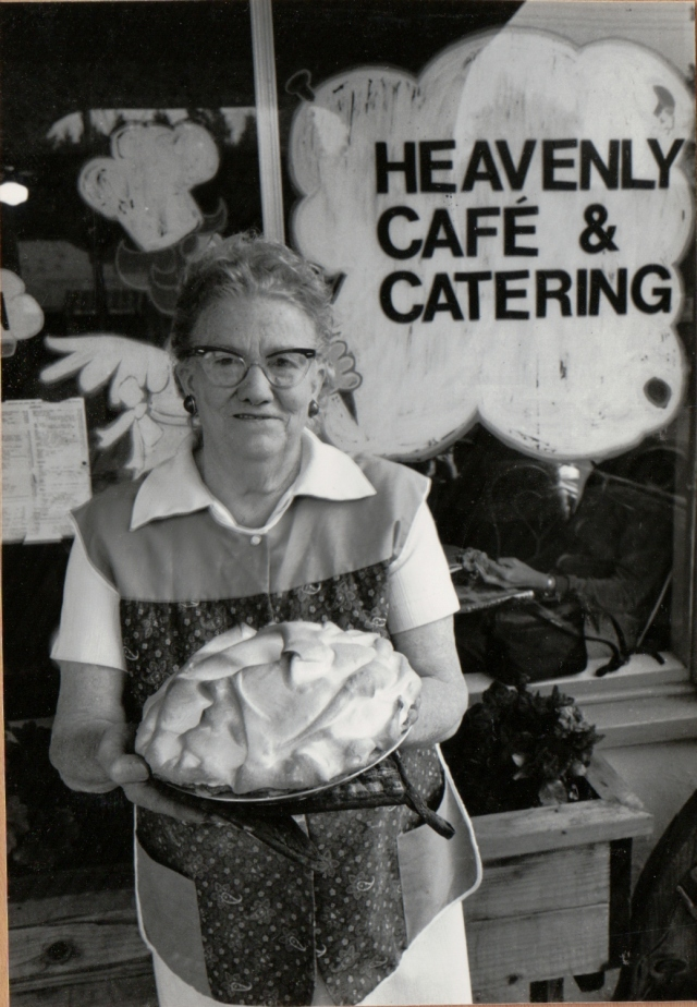 Lee Worley, Heavenly Cafe and Catering, Felton.
