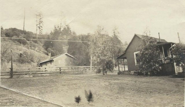 Rideout Ranch property, circa early 1900's. Courtesy of Carol Harrington.