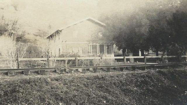 Rideout Ranch building, Felton. Courtesy of Carol Harrington.