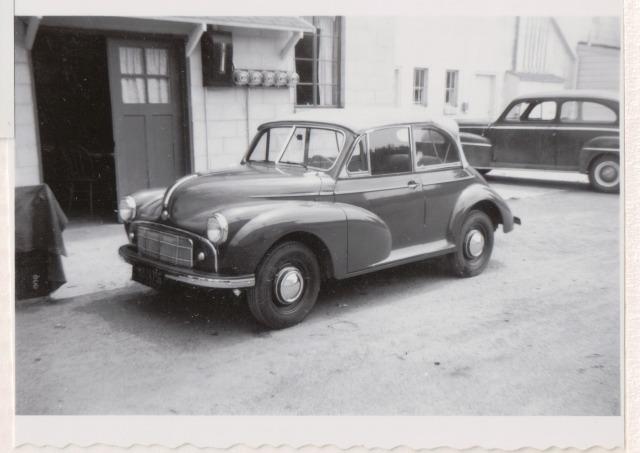 Patsy (Klein) Wright's car. Courtesy of Patsy Wright.